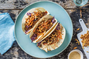 Japanese Beef & Pear Tacos image