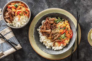Japanese Beef Stir-Fry image