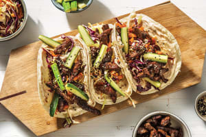 Japanese Beef Tacos image