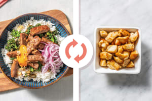 Japanese Chicken & Garlic Rice Bowl image