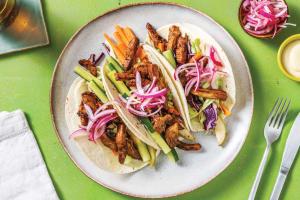 Japanese Pork Tacos & Pickled Onion image