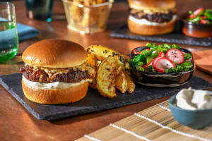 Japanese Style Pork Burger image