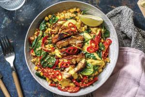 Jerk Chicken & Caribbean Couscous image