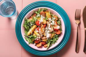 Kartoffelsalat mit geräuchertem Hähnchen image