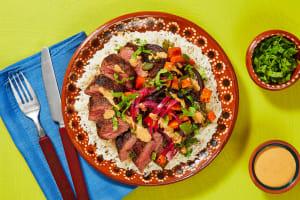 Kickin' Chipotle Steak Bowls image