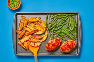 Kickin' Orange BBQ Turkey Meatloaves image