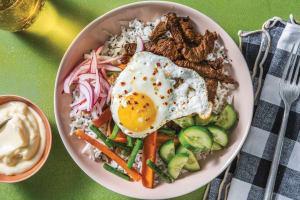 Korean Beef Bibimbap image