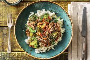 Korean-Style Beef & Veggie Bulgogi Bowl image