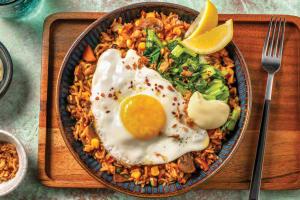 Korean Ssamjang Veggie Fried Rice image
