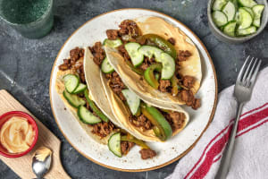 Korean Style Beef Tacos image