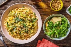 Krämig citronspaghetti image