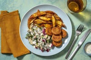 Krispig falafel image