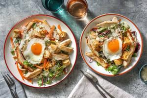 Kycklingsallad med ägg image