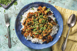 Lamb and Aubergine Curry image