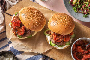 Lamb and DIY Tomato Jam Burger image