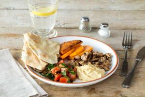 Lamb Mezze Plate image