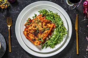 Lasagnes de confit de canard à la sauce tomate image