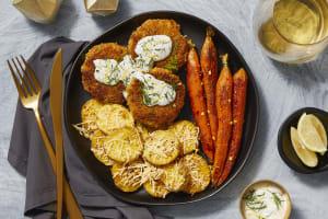 Lemon Dill Crab Cakes image