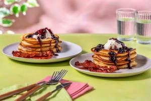 Fluffy Lemon Ricotta Pancakes image