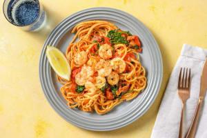 Lemony Shrimp Scampi image
