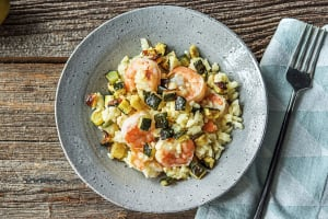 Lemony Shrimp Risotto image