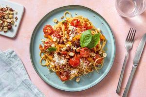Linguine et duo de tomates cerises & confites image