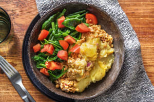 Linsenauflauf mit Kartoffelkruste image