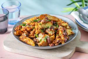 Loaded Chorizo Beany Wedges image