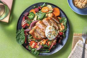 Spiced Pork Loin & Roast Veggie Toss image