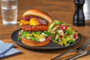 Luau Veggie Burgers image