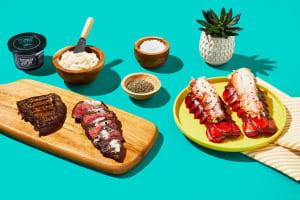 Luscious Lobster, Steak & Black Truffle Butter image