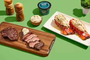 Luscious Lobster, Steak & Garlic Herb Butter image