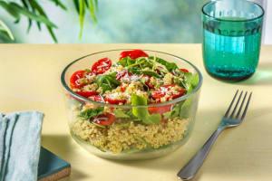 Made-in-Minutes Mediterranean Pesto Bowl image