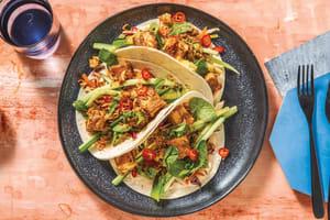 Malaysian Satay Tofu Tacos image