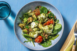 Marinated Mozzarella Farro Bowl image