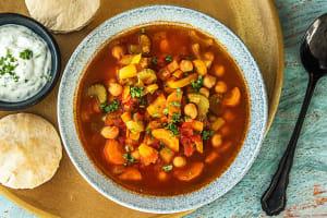 Marokkaanse tomatensoep met kikkererwten image