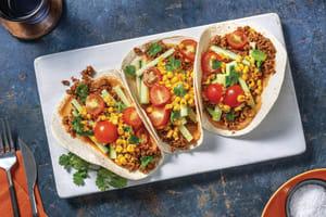 Quick Tex-Mex Veggie Tacos image