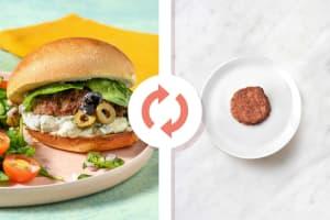 Medi Veggie Burgers and Olive Tapenade image