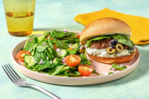 Medi Burgers and Olive Tapenade image