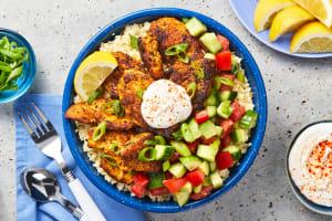 Mediterranean Chicken Bowls image