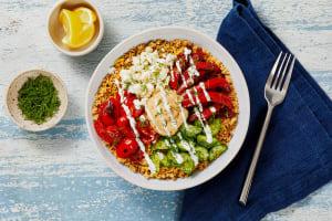 Mediterranean Couscous Bowls image