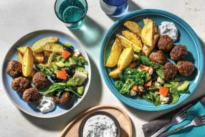 Mediterranean Meatballs & Tzatziki image