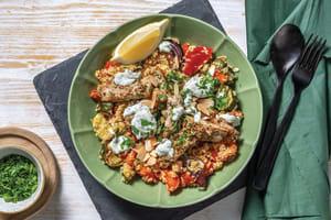 Mediterranean Pork Couscous Bowl image
