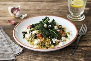 Mediterranean Quinoa Bowl image
