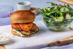 Mediterranean Roasted Veggie Sandwich image