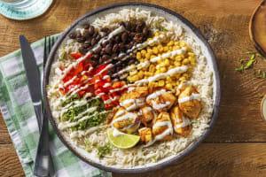Mexicaanse bowl met kipfilet image