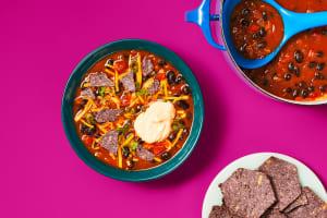 Mexicali Black Bean Soup image