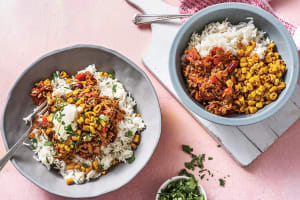 Mexican Beef & Bean Rice Bowl image