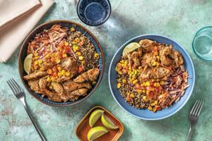 Mexican Chicken & Garlic Quinoa Bowl image