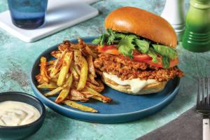 Tex-Mex Crumbed Chicken Burger image